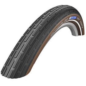 "SCHWALBE Fat Frank Active K-Guard 28"" rigide Reflex, black/coffee"